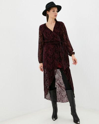 Красное платье с запахом Silvian Heach