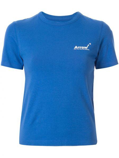 Koszula z nadrukiem niebieski Ader Error