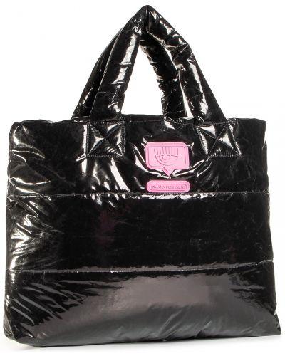Czarna torebka Chiara Ferragni