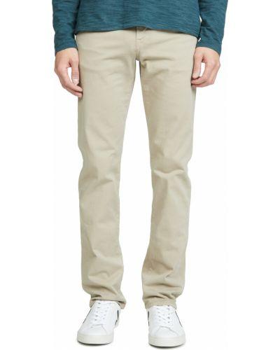 Прямые зеленые джинсы классические стрейч Citizens Of Humanity
