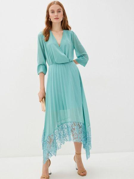 Бирюзовое вечернее платье Rinascimento