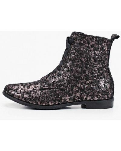 Кожаные ботинки - коричневые Bosccolo