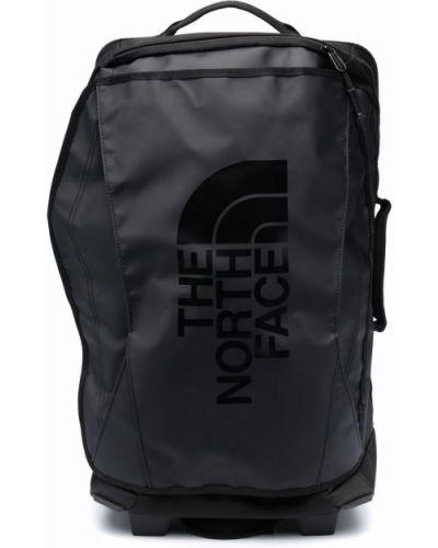 Walizka z printem - czarna The North Face