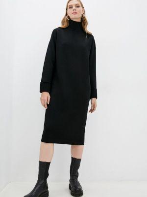 Вязаное платье - черное Windsor