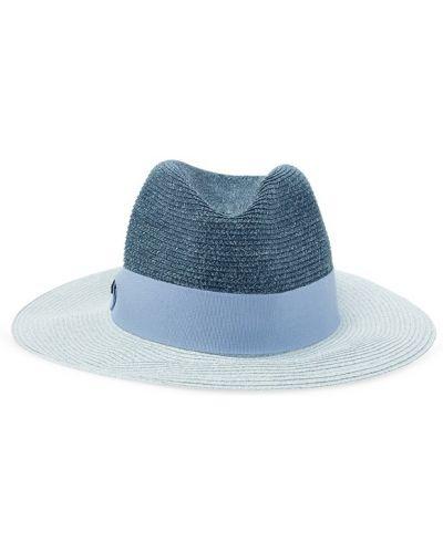 Niebieski czapka baseballowa Emporio Armani