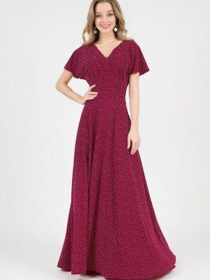 Повседневное платье - бордовое Marichuell