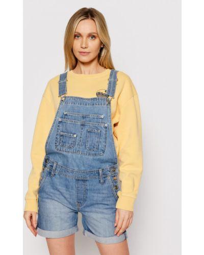 Kombinezon - niebieski Pepe Jeans