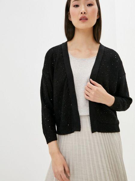 Черный свитер Falconeri