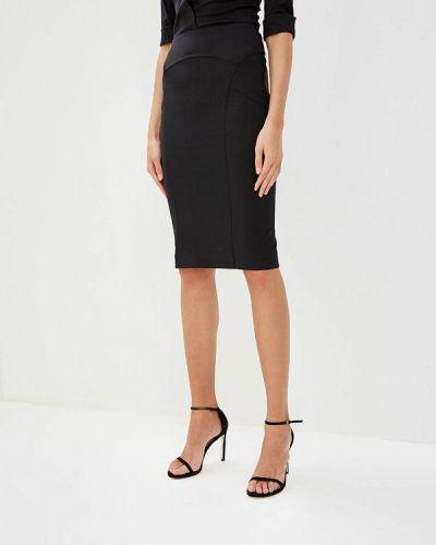 Черная юбка облегающая Patrizia Pepe