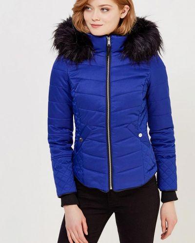 Синяя утепленная куртка River Island