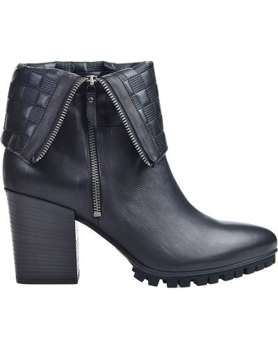 Черные ботинки на платформе Vic Matie