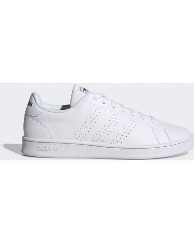 Белые теннисные кроссовки Adidas