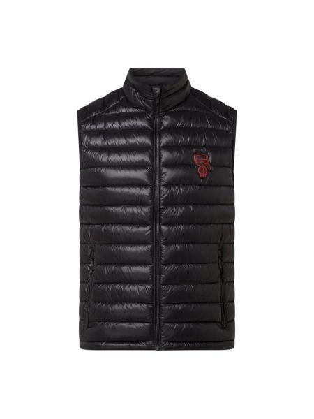 Czarna kamizelka pikowana Karl Lagerfeld