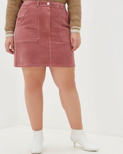 Юбка карандаш розовая Dorothy Perkins Curve