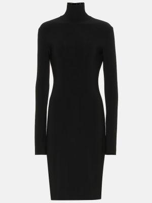Трикотажное платье - черное Norma Kamali