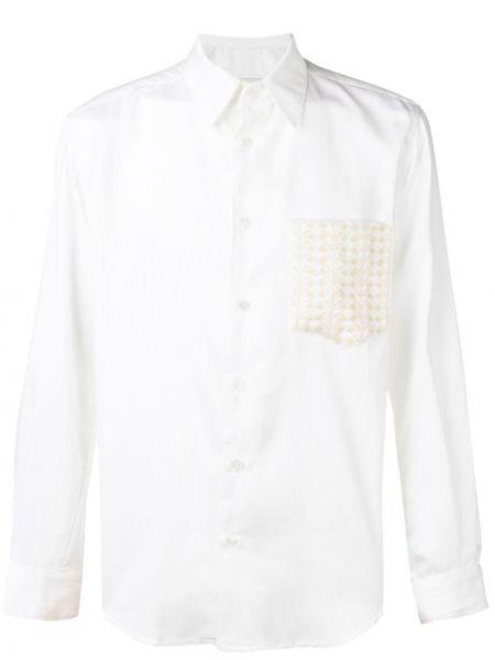 Классическая рубашка с вышивкой на пуговицах Adish