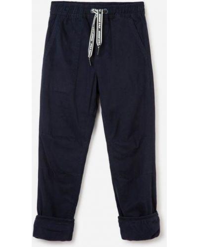 Синие джинсы на шнуровке Gloria Jeans