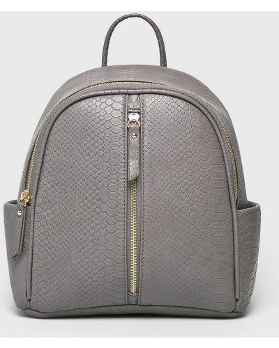 Кожаный рюкзак серый Parfois