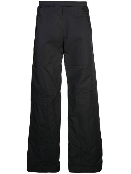 Czarne spodnie bawełniane Cottweiler