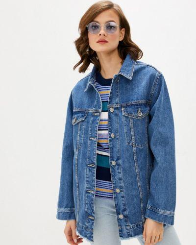 Синяя джинсовая куртка Unq
