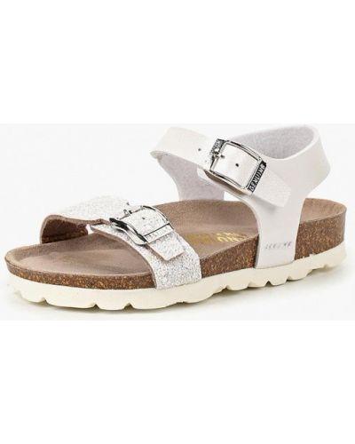 Белые сандалии Genuins