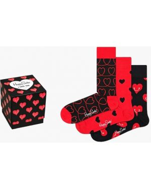Носки красный Happy Socks