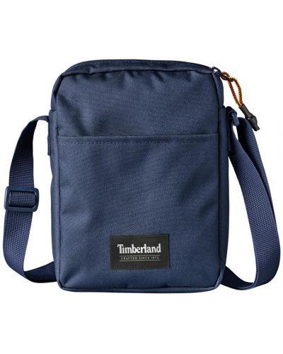 Повседневная темно-синяя сумка через плечо на молнии Timberland