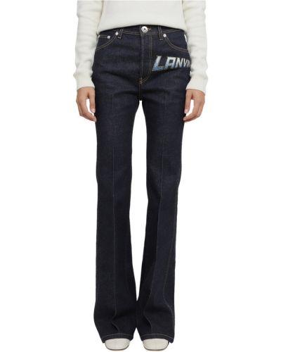 Niebieskie mom jeans Lanvin