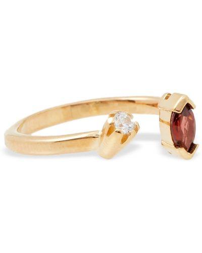 Złoty pierścionek Cornelia Webb