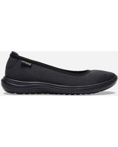 Балетки - черные Crocs