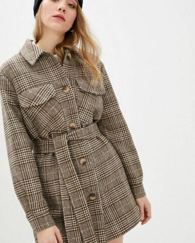 Коричневое пальто Danna