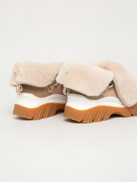Кожаные сапоги Inuikii