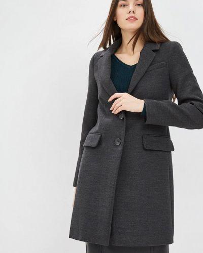 Пальто демисезонное серое Warehouse