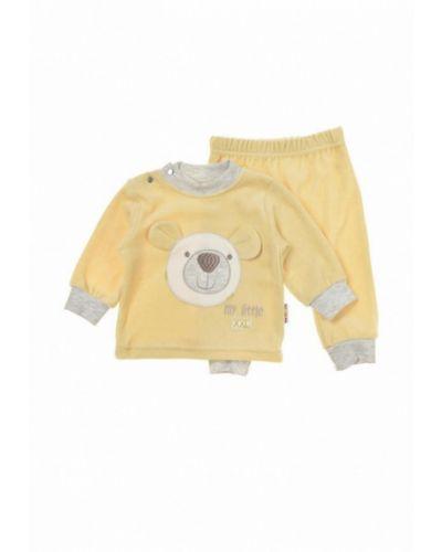 Костюм желтый фламинго текстиль
