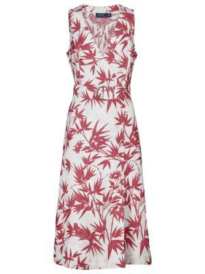 Льняное платье макси Polo Ralph Lauren