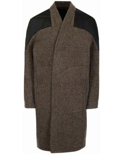 Płaszcz - brązowy Rick Owens