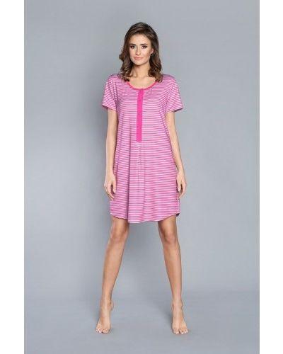 Розовая хлопковая пижама Italian Fashion