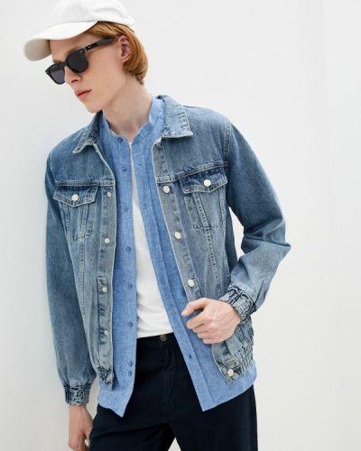 Синяя джинсовая куртка Mossmore