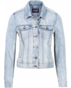 Джинсовая куртка синий Bonprix
