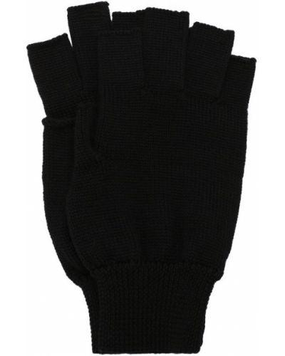 Перчатки шерстяные митенки Rick Owens