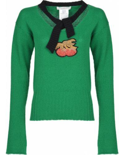 Кашемировый свитер - зеленый Philosophy Di Lorenzo Serafini