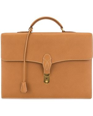 Teczka brązowy Hermès Pre-owned