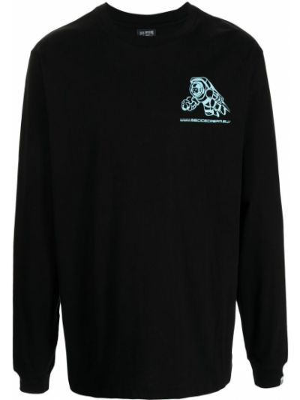 Хлопковая футболка - черная Billionaire Boys Club