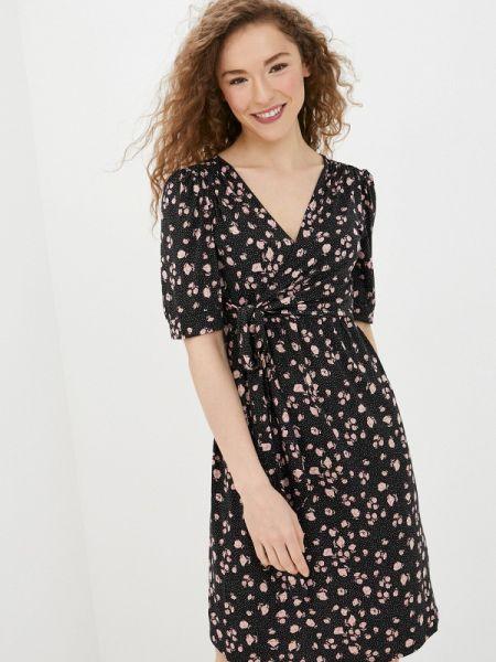 Платье прямое черное Envie De Fraise