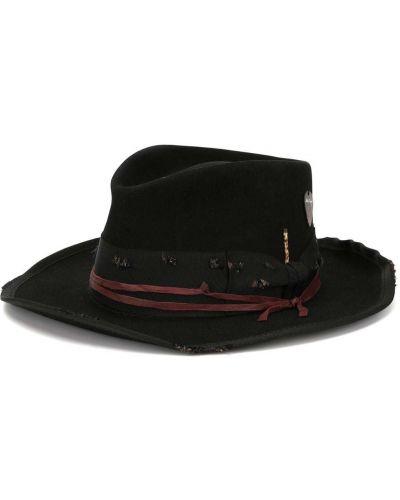 Черная шляпа Nick Fouquet