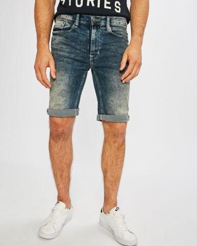 Джинсовые шорты хлопковые с карманами Blend