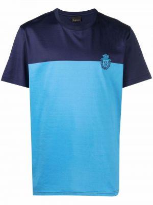 Синяя хлопковая футболка Billionaire