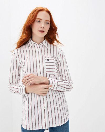Рубашка с длинным рукавом белая Tommy Hilfiger