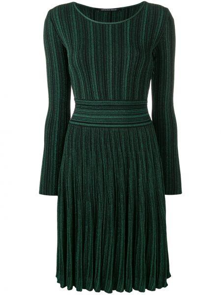 Платье зеленый приталенное Antonino Valenti