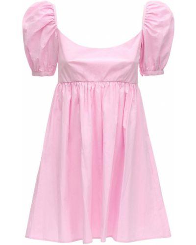 Różowa sukienka mini bawełniana Ciao Lucia